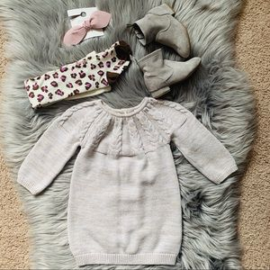 Old Navy baby girl sweater dress